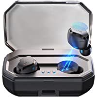 【2019 Neueste】 Antimi Bluetooth Kopfhörer in Ear,Bluetooth 5.0 Sport Kabellose Stereo-Minikopfhörer mit IPX6 Wasserdicht,Mikrofon,Ladekästchen 3000mAh für Smartphone, S8 Plus