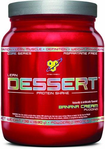 BSN Lean Dessert Protein, Banana Cream Pudding, 1.38 Pound