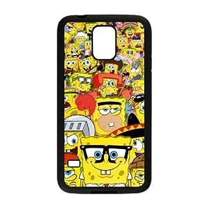 ANCASE Custom Color Printing SpongeBob Phone Case For Samsung Galaxy S5 i9600 [Pattern-3]