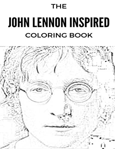 Mature Colors • John Lennon Inspired Coloring Book: Beatles and ...