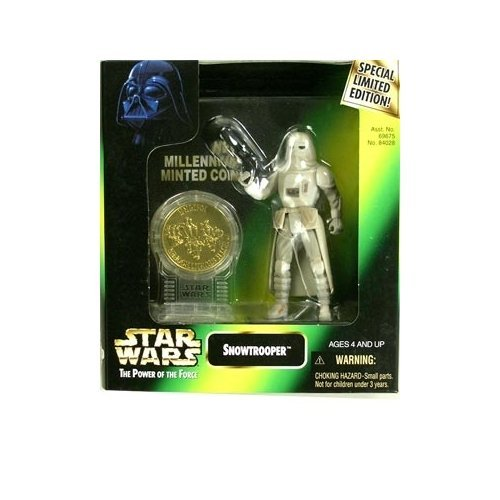 Star Wars: Power of the Force Millenium Coin Edition Snowtrooper Action -