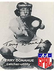 Terry Donahue Reprint Reproduction Signed Autographed 8x10 Photo AAGPBL A Secret Love Poster Print