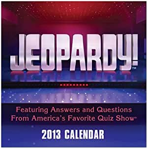 Jeopardy! Page a Day 2013 Desk Calendar