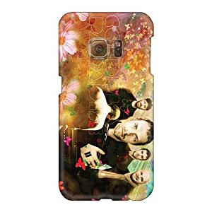 Bumper Hard Phone Cover For Samsung Galaxy S6 With Custom HD Coldplay Band Series InesWeldon