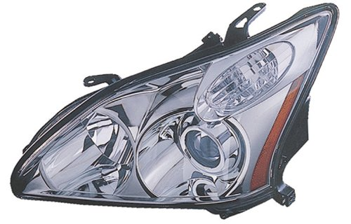 Lexus RX330 Japan Built Replacement Headlight Unit HID Type - 1-Pair (Lexus Rx330 Headlight Replacement)