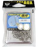 がまかつ(Gamakatsu) シングルフック チヌ ザ・ボックス 7号 70本 白 66716