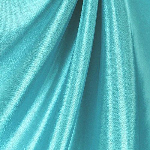 Teal Taffeta Fabric - by the Yard (Teal Taffeta)