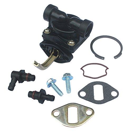 KIPA Fuel Pump For Kohler 1255902-S 1255901-S 1239303 1255901 12 559 02-S 12 559 01-S 12 393 03 CH CV 11-16 Hp Motor Craftsman LT1750 John Deere LX173 LT133 LX173 AM133627 Toro 74603 74702 74162 Mower ()