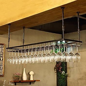 Btjj Fer Rétro Style Industriel Bar Restaurant Suspendu Tasse