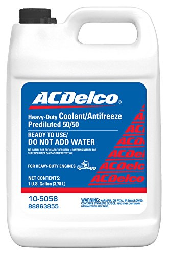 ACDelco 10-5058 Nitrited Heavy Duty Diesel Extended Life 50/50 Pre-Mix Coolant - 1 gal (Ac Delco Diesel Exhaust Fluid compare prices)