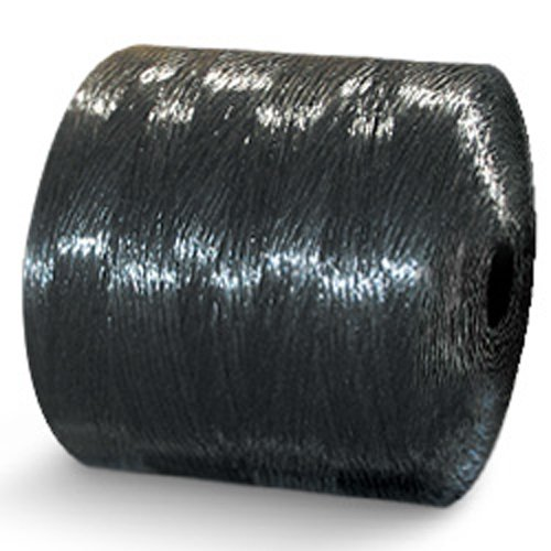 CWC Split Film Polypropylene Tying Twine - 1 Ply, 210 lbs Tensile, Black (Pack of 4 rolls)