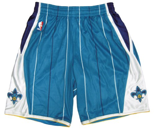 New Orleans Hornets 2010-11 Team Issued Road Game Shorts - Size -