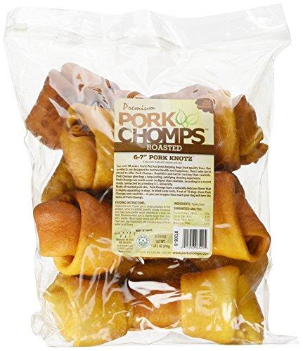 Image of Premium Pork Chomps Roasted Knotz Pork, 6-7