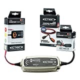 CTEK (56-864) MUS 4.3 12 Volt Fully Automatic 8 Step Battery Charger and Lawn and Garden Kit
