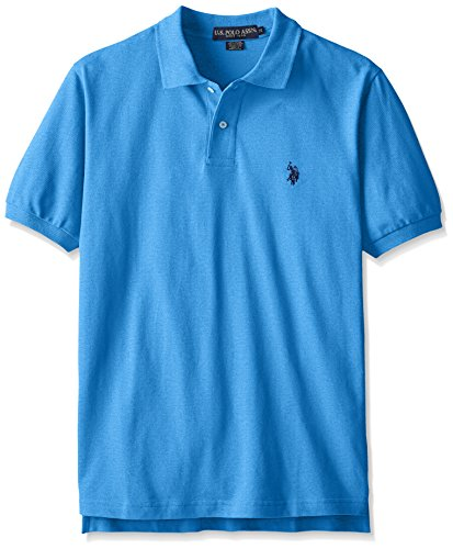 U.S. Polo Assn. Men's Classic Polo Shirt, Blue Tile Heather, XL