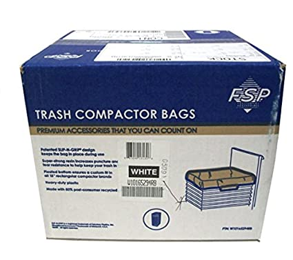 Whirlpool W10165294RB 15-Inch Plastic Compactor Bag