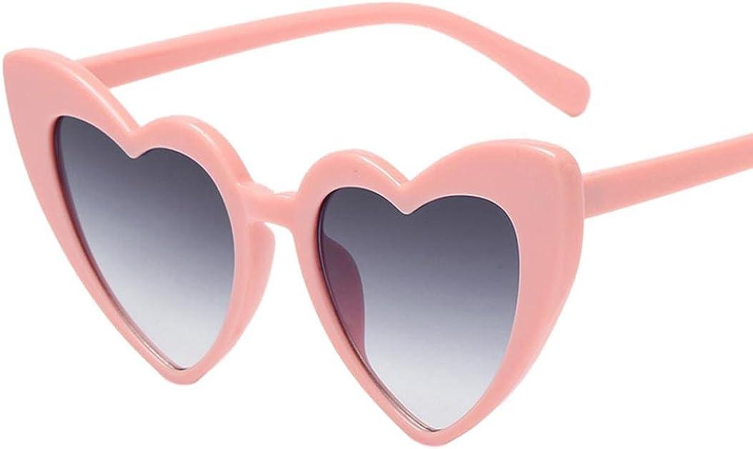 Occhiali da sole Donna Retro Moda/Cuore a forma di eyewear integrato UV Bicchieri Heart-shaped Sunglasses Glasses