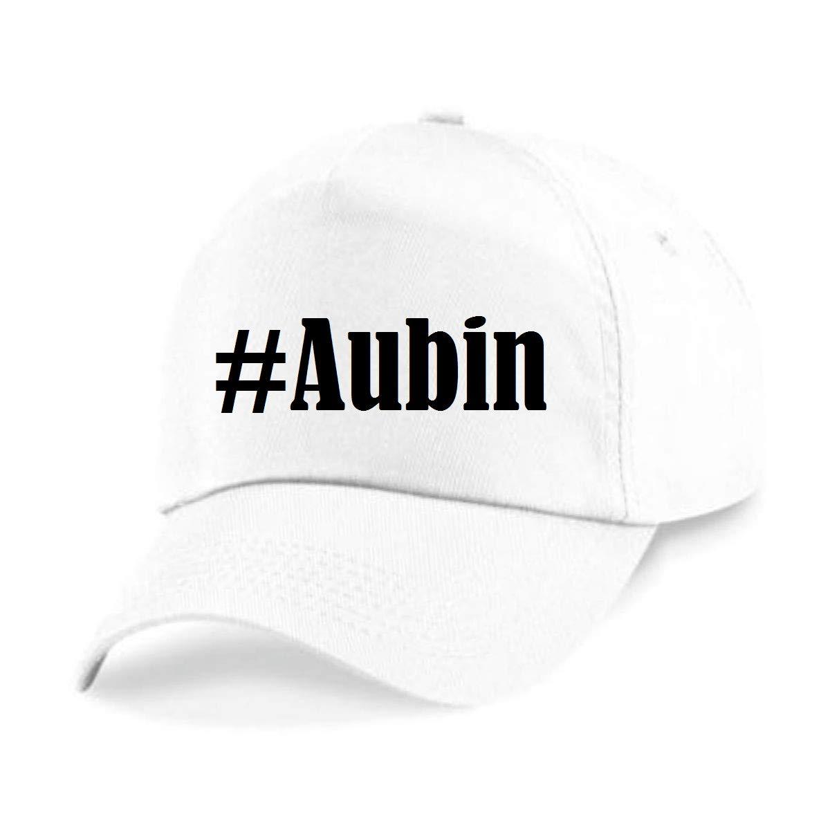 Casquettes de Baseball #Aubin Hashtag Diamant Social Network Basecap pour Les Hommes Femmes Gar/çon /& Fille en Noir