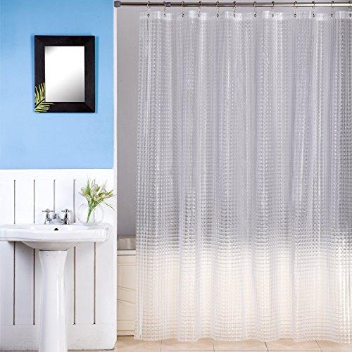 Shower Curtain Premium Mildew Resistant Anti Bacterial