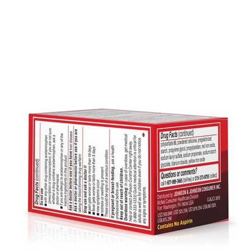 Tylenol Extra Strength Rapid Release Gelcap, 24 count per pack -- 72 per case.