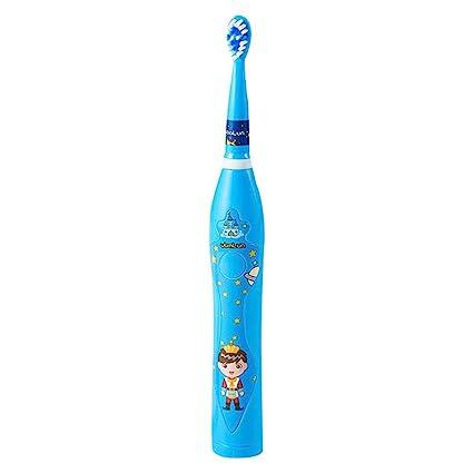 Blue-Yan Cepillo de Dientes eléctrico para niños Tiempo de Carga Sonic Wave - Cepillo