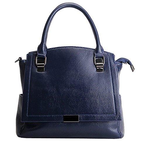 en LF Sac portés Bleu fashion main Sac E Girl Sac cuir femme Sac main épaule portés 66680 à bandoulière C0qxwt665A