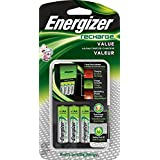 Energizer AA/AAA Battery Charger with 4  AA Batteries