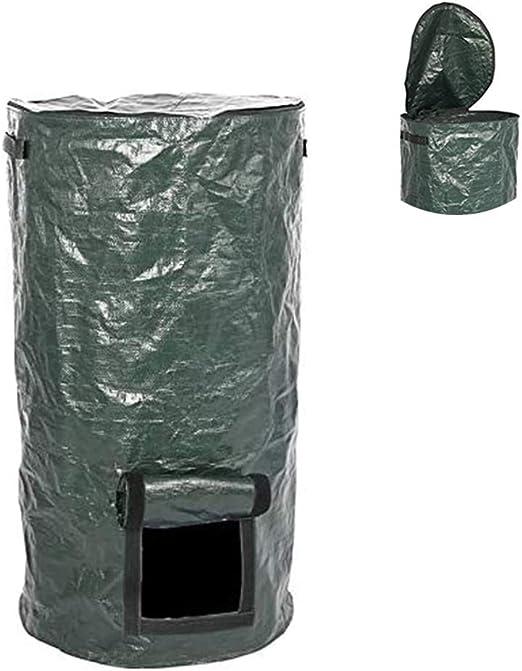 Nologo, bolsa de compost para jardín, plegable, para jardín, compost de polietileno, compostaje de jardín, bolsa de compostaje ecológico, bolsa de residuos orgánicos, 35 x 60 cm.: Amazon.es: Jardín