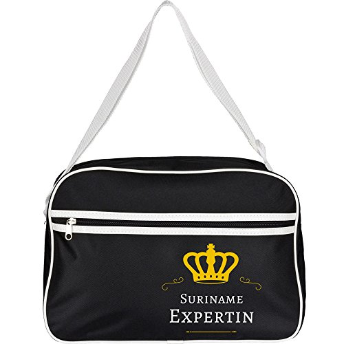 Retrotasche Suriname Expertin Black