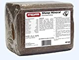 Sheep Mineral Block, 40 Lb - No Copper - for Fast Growing Quality Wool and General Health