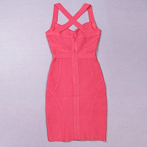 Pink Damen Pink Kleid Rosa Rosa HLBCBG dqXOd