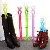 CGBOOM Folding Boot Shaper Stands Boots Knee High