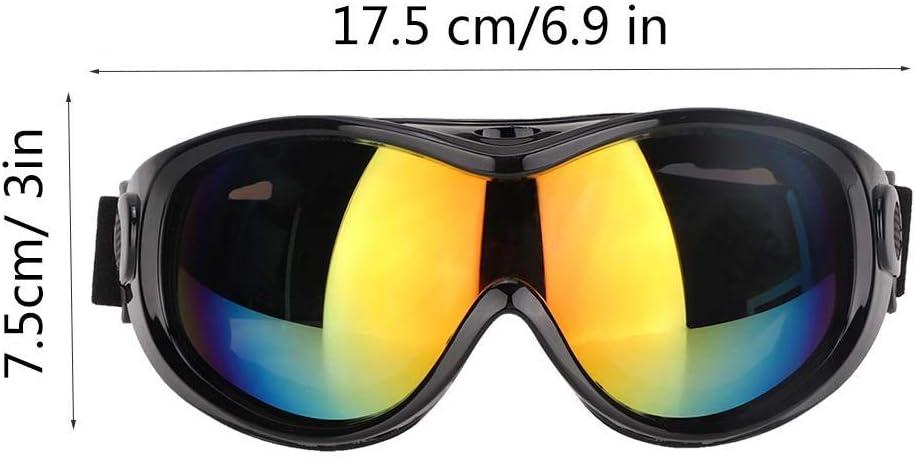 Black Pet Dog Sunglasses Medium and Large Pet Dog UV Goggles Resistant Protective Sunglasses