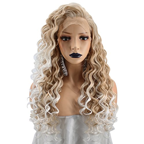 Anogol Kinky Curly Blonde Synthetic product image