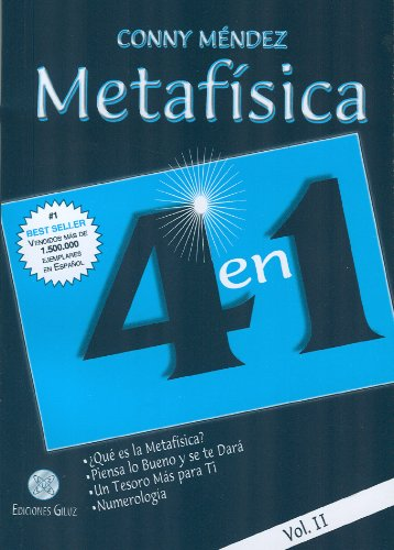 Read Online Metafísica 4 en 1. Vol II (Spanish Edition) pdf epub
