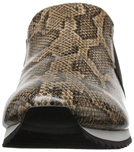 Bella Vita Womens Ezra II Fashion Sneaker Natural Faux Snake