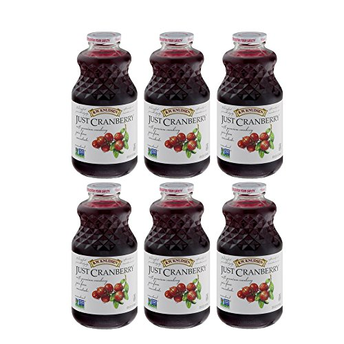 Knudsen Family Cranberry (R.W. Knudsen Family Just Juice, 100% Cranberry, 32 Ounce (6 Pack))
