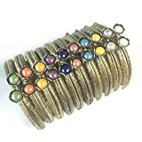 Guofa Metal Frame Purse Coin Bag Kiss Clasp Lock DIY Craft Assorted Lotus Bead Bronze 10PCS 10.5X6.5CM