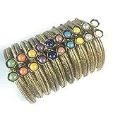 GuoFa Metal Frame Purse Coin Bag Kiss Clasp Lock DIY Craft Assorted Lotus Bead 8.5X5.8CM
