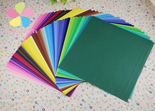 DalaB Sale! 50PCS 1515cm Colorful Origami Paper Double Sided Coloured Craft Square Assorted DIY Folded Papercraft Tools 048014008 - (Color: Mixed Colors 1 ()