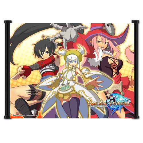 Arc Rise Fantasia Video Game Fabric Wall Scroll - Fragile Dreams Wii
