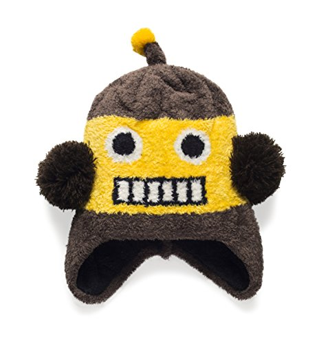 The Original Flipside Pillow Rest Rally Repeat Robot Hats for Kids Winter Hats for Outdoor Fun Ski and Play Unisex
