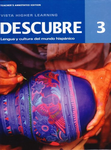Descubre, Level 3, Teacher's Annotated Edition