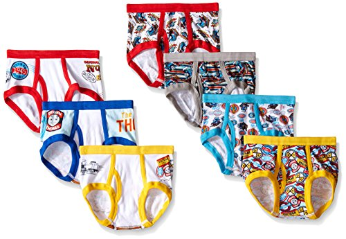 Thomas the Train Toddler Boys' Briefs 7 Pair Pack (2T/3T) (Size 2t Underwear)