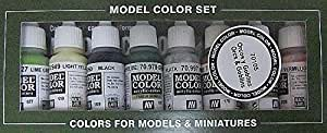 Vallejo Orcs and Goblins Paint Set 5, 17ml