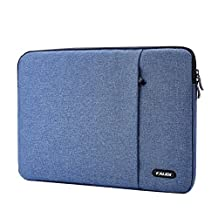 KALIDI 15 Inch Laptop Briefcase Cover Bag for ThinkPad S5 Yoga Series/Dell XPS 15 Series/Samsung 910S5J Series/Acer M3-581 Series, Blue