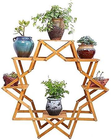 chishizhenxiang Soporte de Flores, Soporte de exhibición de Planta ...