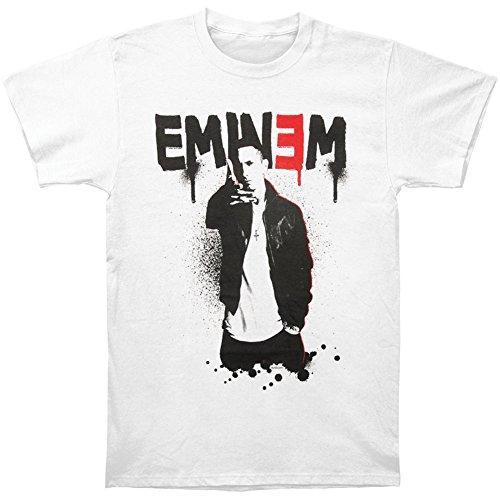 Eminem Mens Sprayed Recovery T shirt product image