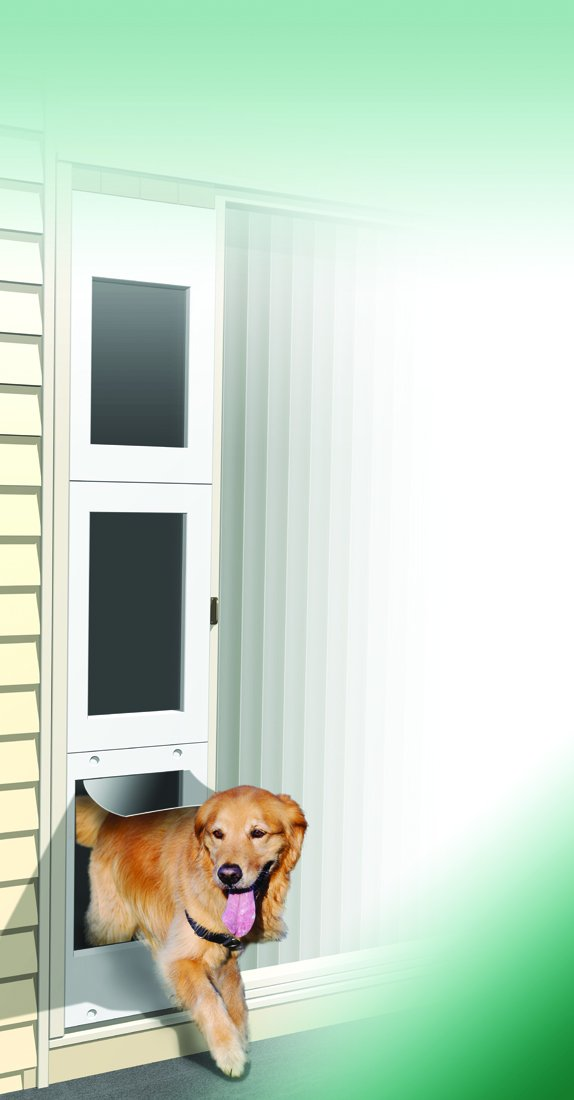 Amazon Wedgit Portable Pet Portal Pet Door Panel With