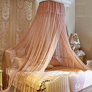 Principessa Canopy con Garza Tenda, Tenda per Lettino con zanzariera Tenda, Tenda di Cotone Naturale della Cupola della… 11 spesavip
